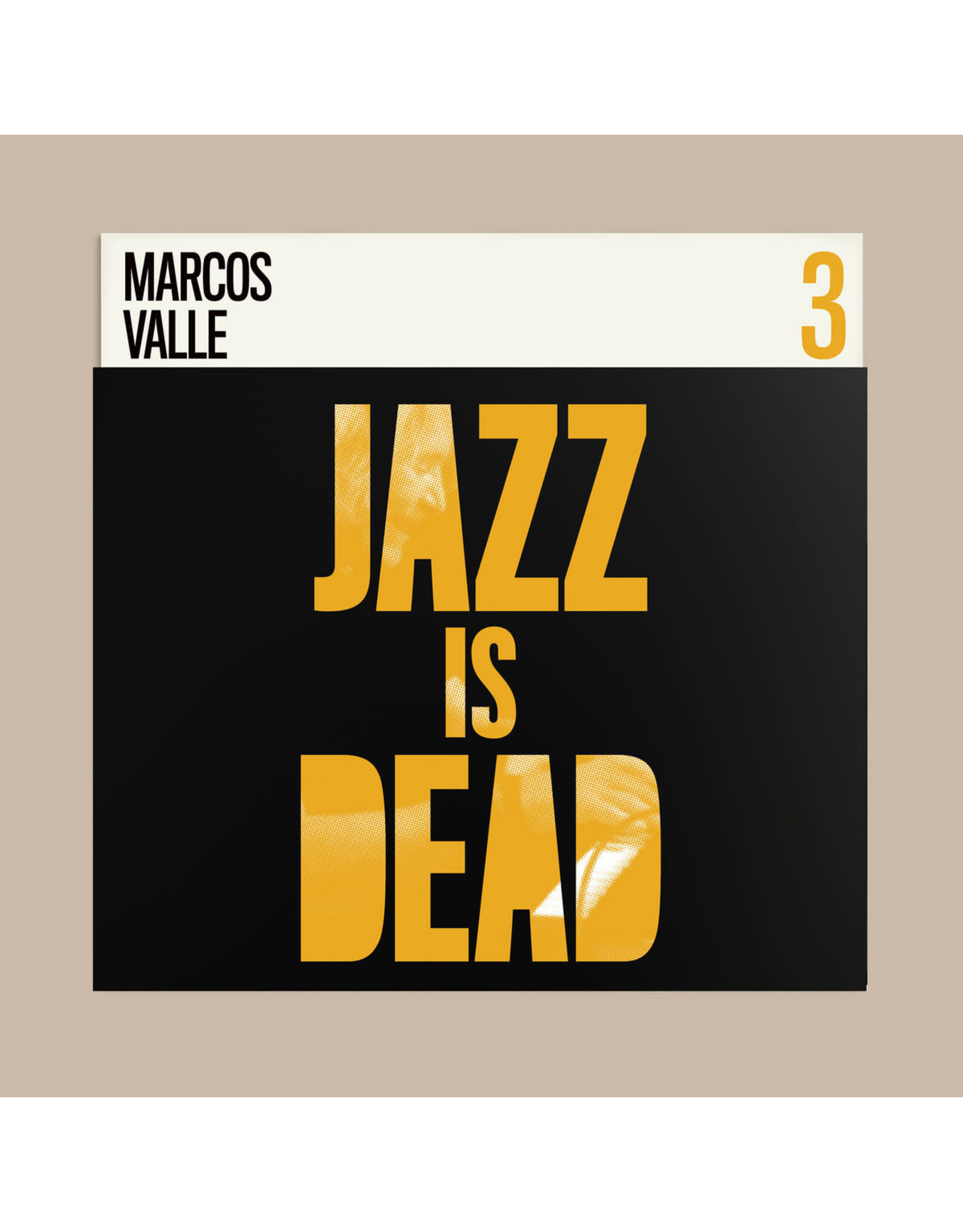 New Vinyl Adrian Younge & Ali Shaheed Muhammad - Jazz Is Dead 3: Marcos Valle LP