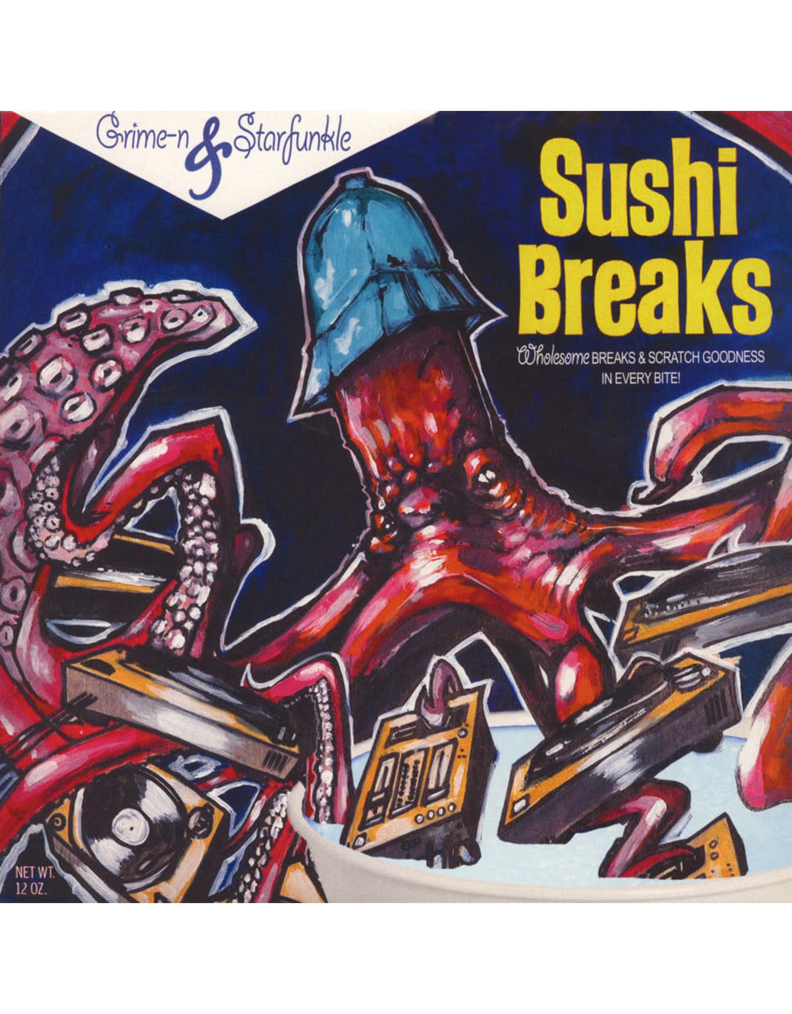 New Vinyl Grime-n & Starfunkle - Sushi Breaks LP