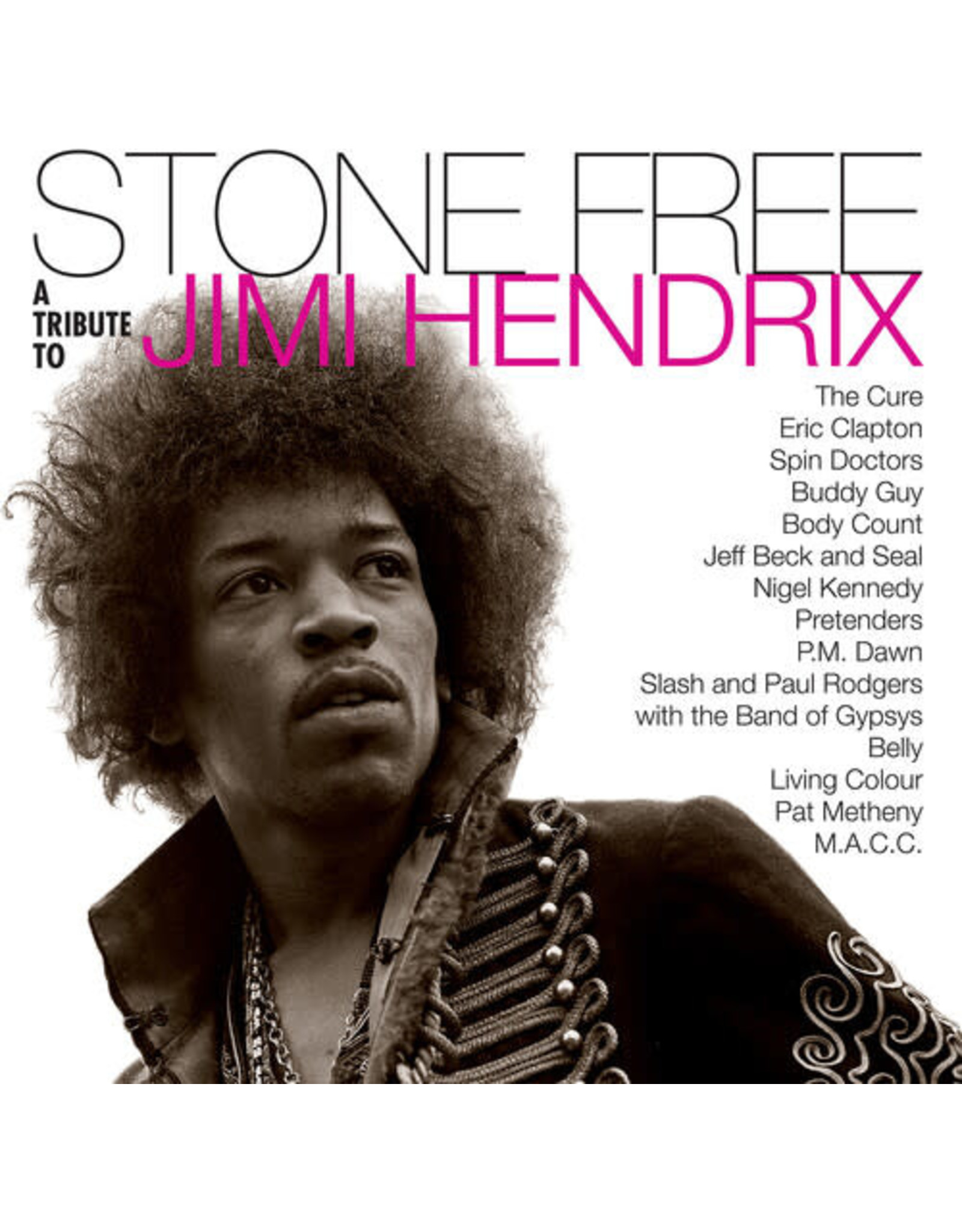 New Vinyl Various - Stone Free: A Tribute To Jimi Hendrix (Colored) 2LP