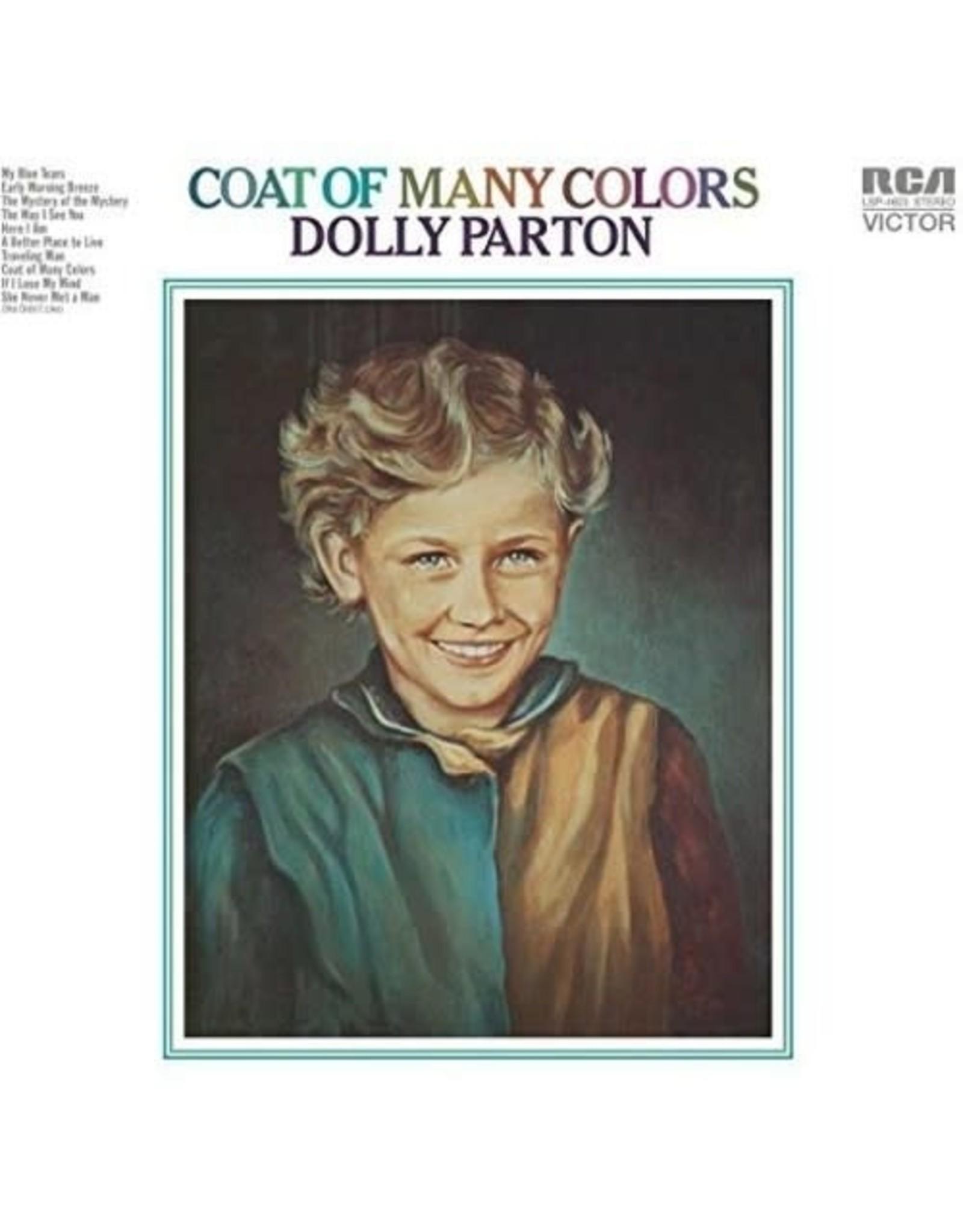 New Vinyl Dolly Parton - Coat of Many Colors [Import] LP