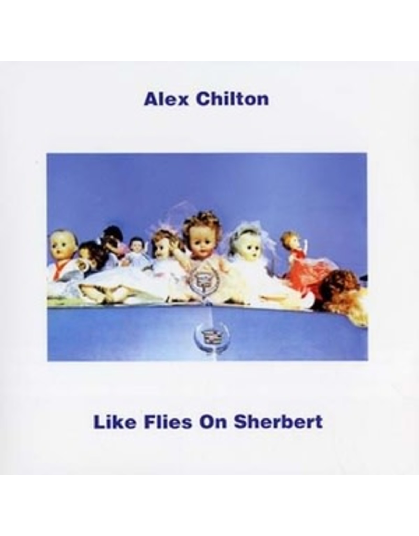New Vinyl Alex Chilton - Like Flies On Sherbert (Clear) LP