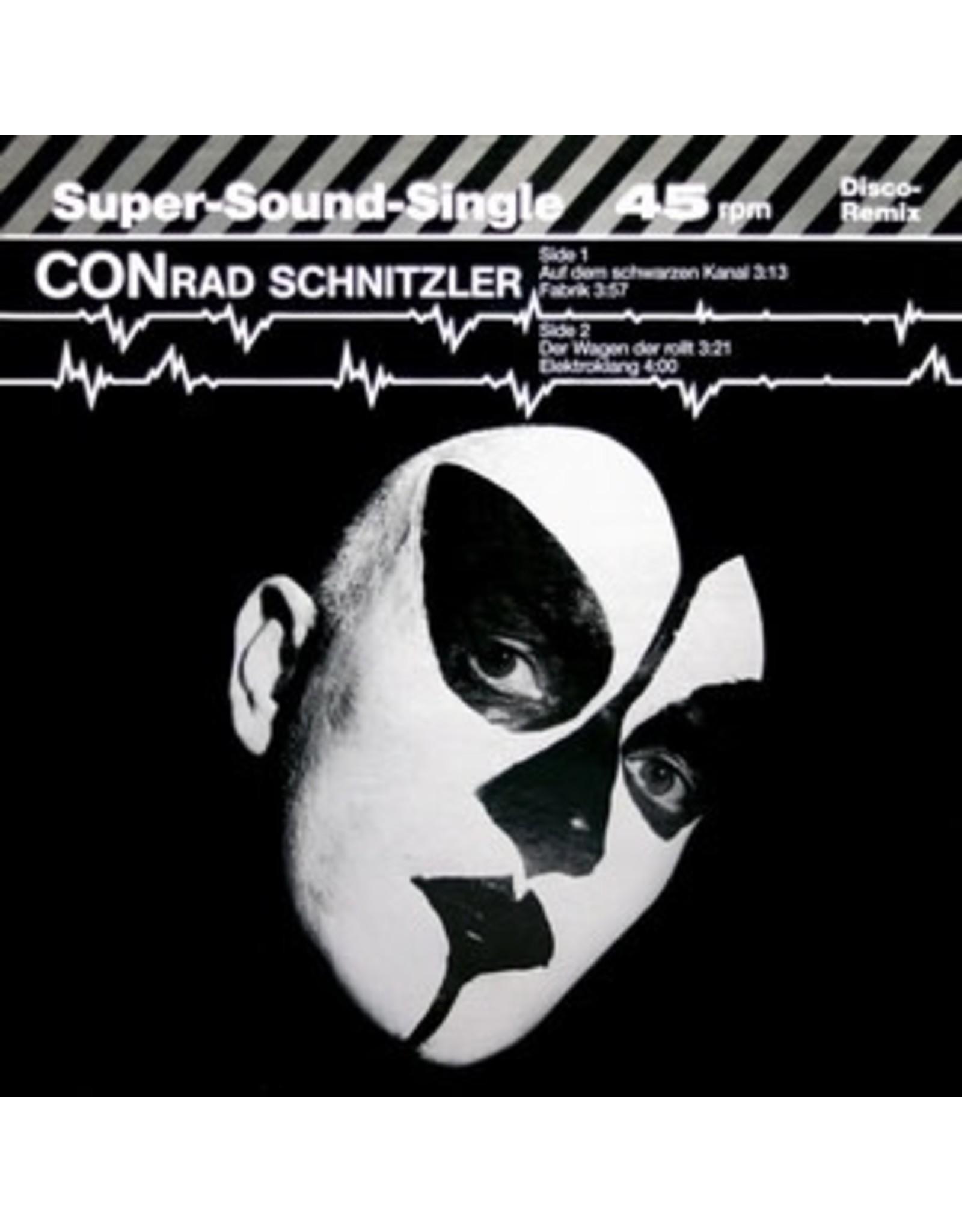 """New Vinyl Conrad Schnitzler - Auf Dem Schwarzen Kanal 12"""""""