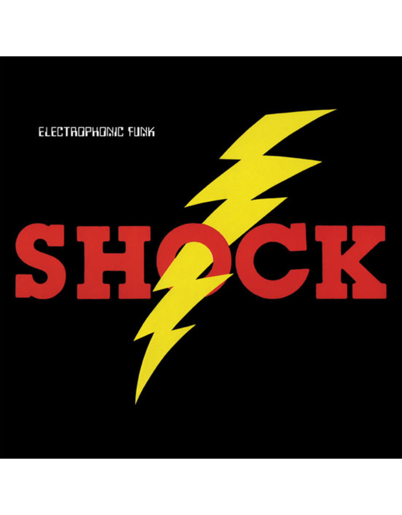 New Vinyl Shock - Electrophonic Funk LP