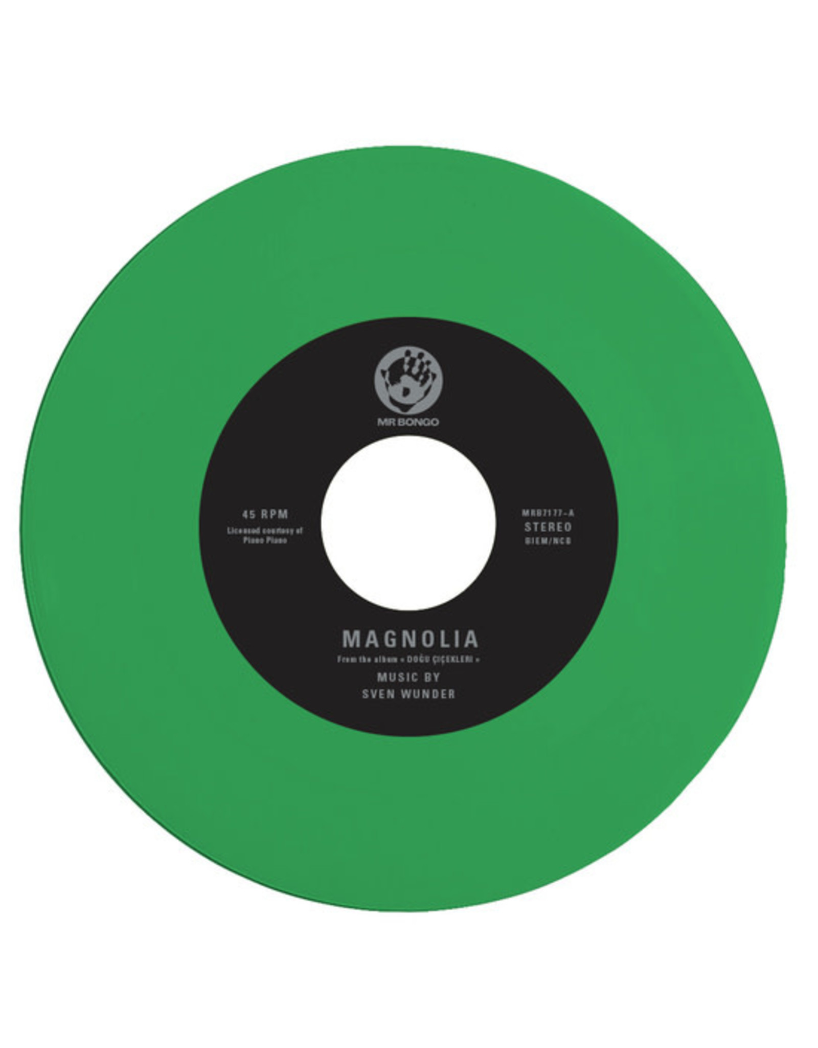 New Vinyl Sven Wunder - Magnolia b/w Lotus (Colored) 7""