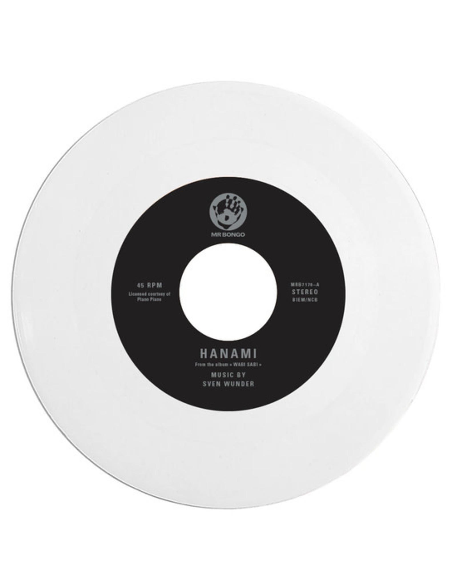 "New Vinyl Sven Wunder - Hanami b/w Shinrinyoku (Colored) 7"""