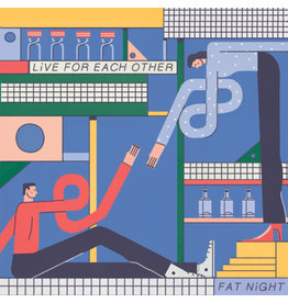 New Vinyl Fat Night - Live For Each Other (Colored) 2LP