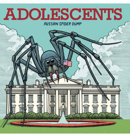 New Vinyl Adolescents - Russian Spider Dump (Colored) LP