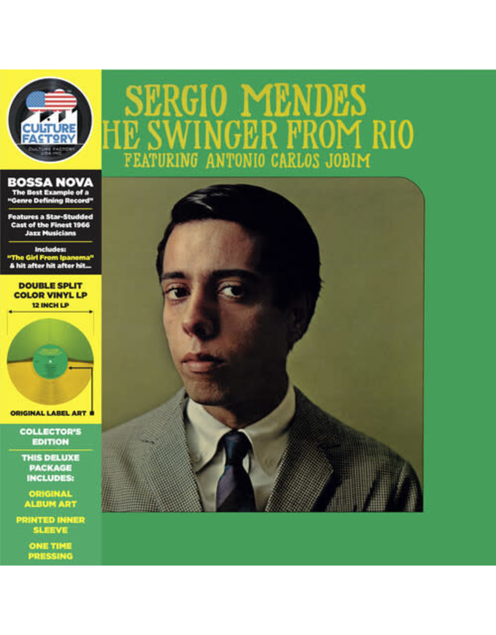 New Vinyl Sergio Mendes - The Swinger From Rio (Collector's Edition, Colored) LP