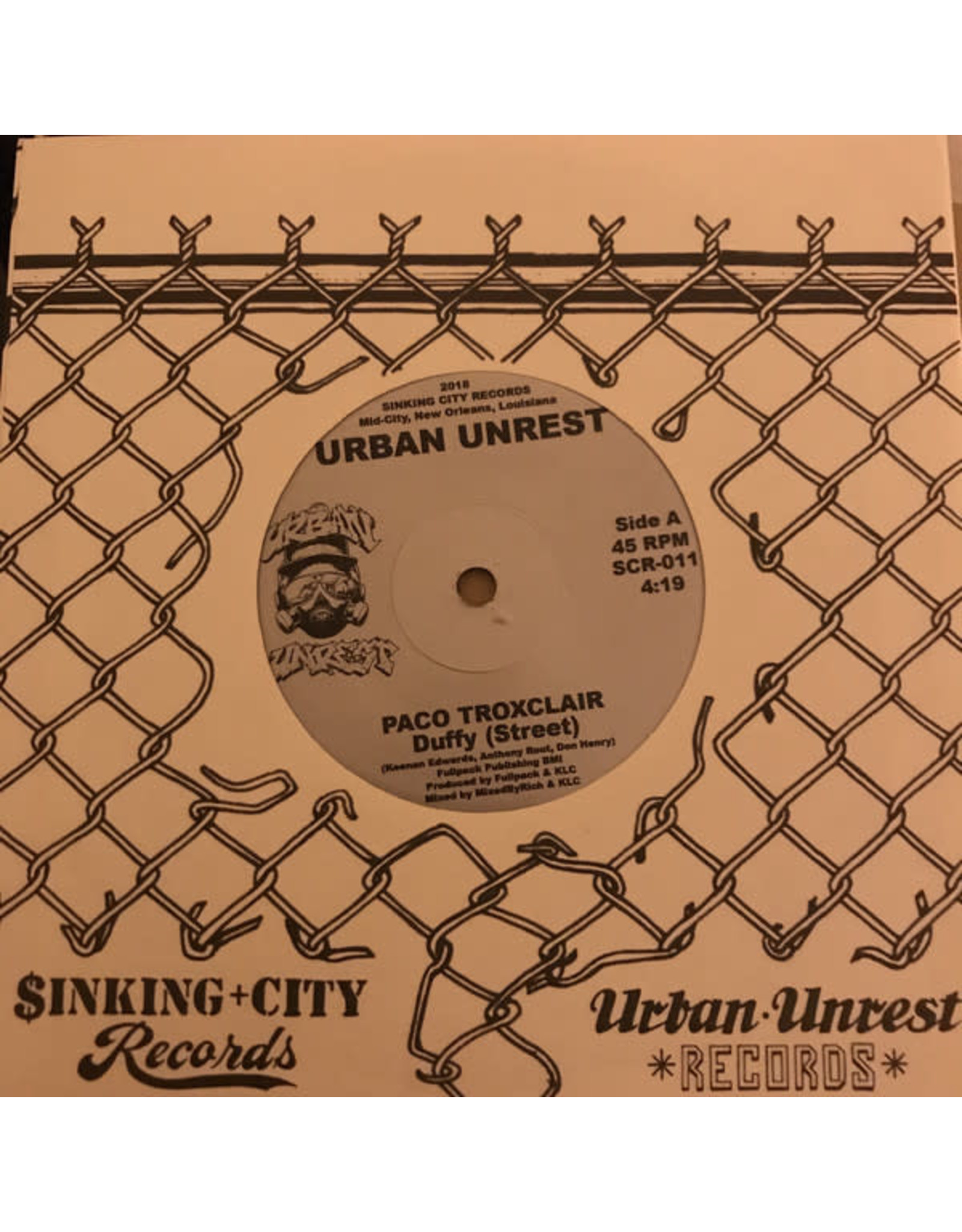 "New Vinyl Paco Troxclair - Duffy 7"""