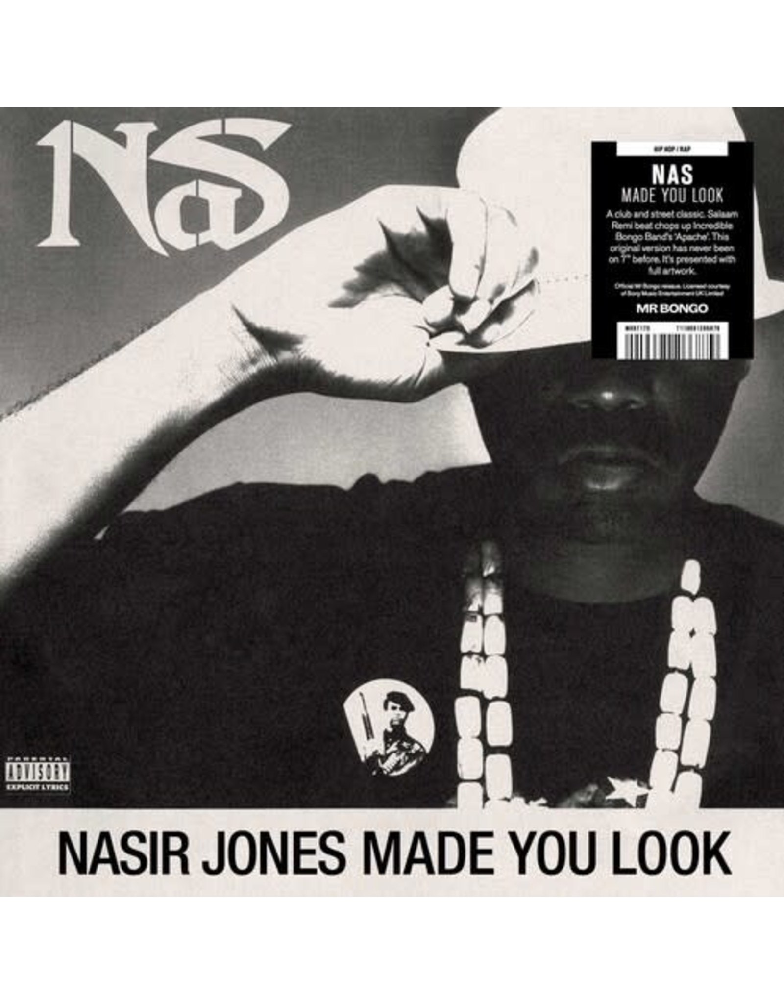 """New Vinyl Nas - Made You Look 7"""""""