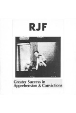 New Vinyl RJF - Greater Success in Apprehension & Convictions LP