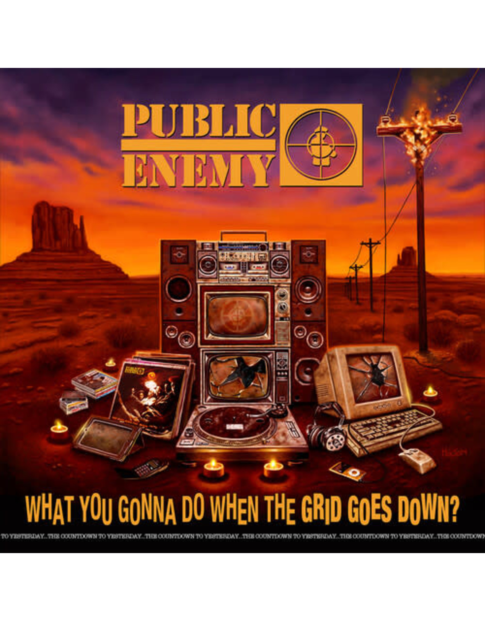 New Vinyl Public Enemy - What You Gonna Do When The Grid Goes Down? LP