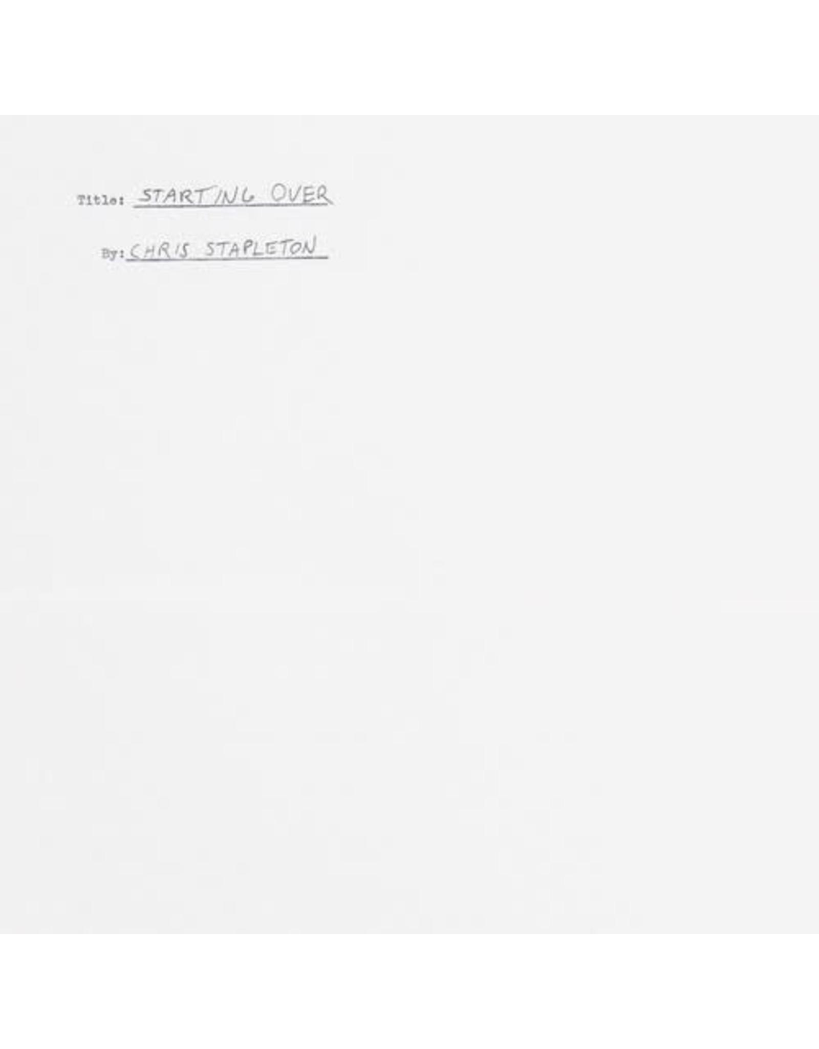 New Vinyl Chris Stapleton - Starting Over 2LP