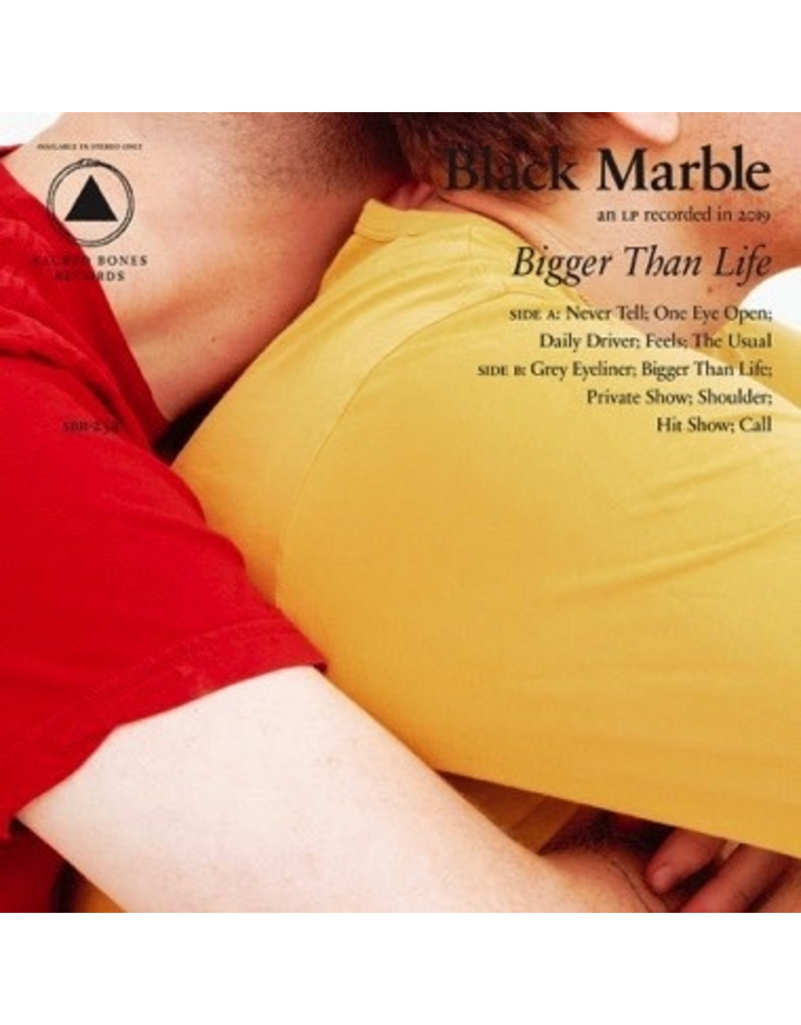 New Vinyl Black Marble - Bigger Than Life (Colored) LP
