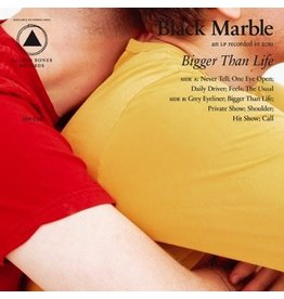 New Vinyl Black Marble - Bigger Than Life (Colored) LP