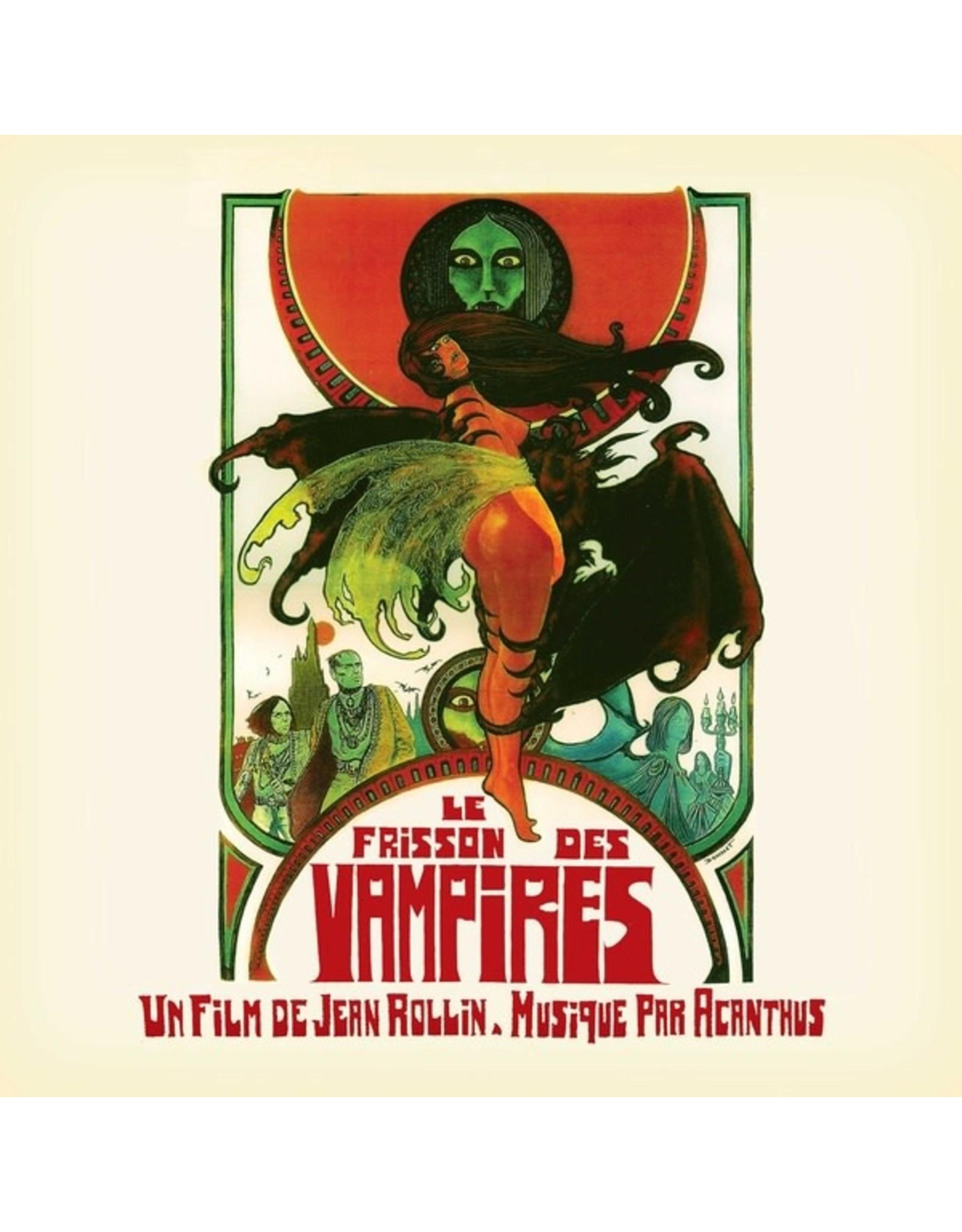New Vinyl Acanthus - Le Frisson Des Vampires OST LP