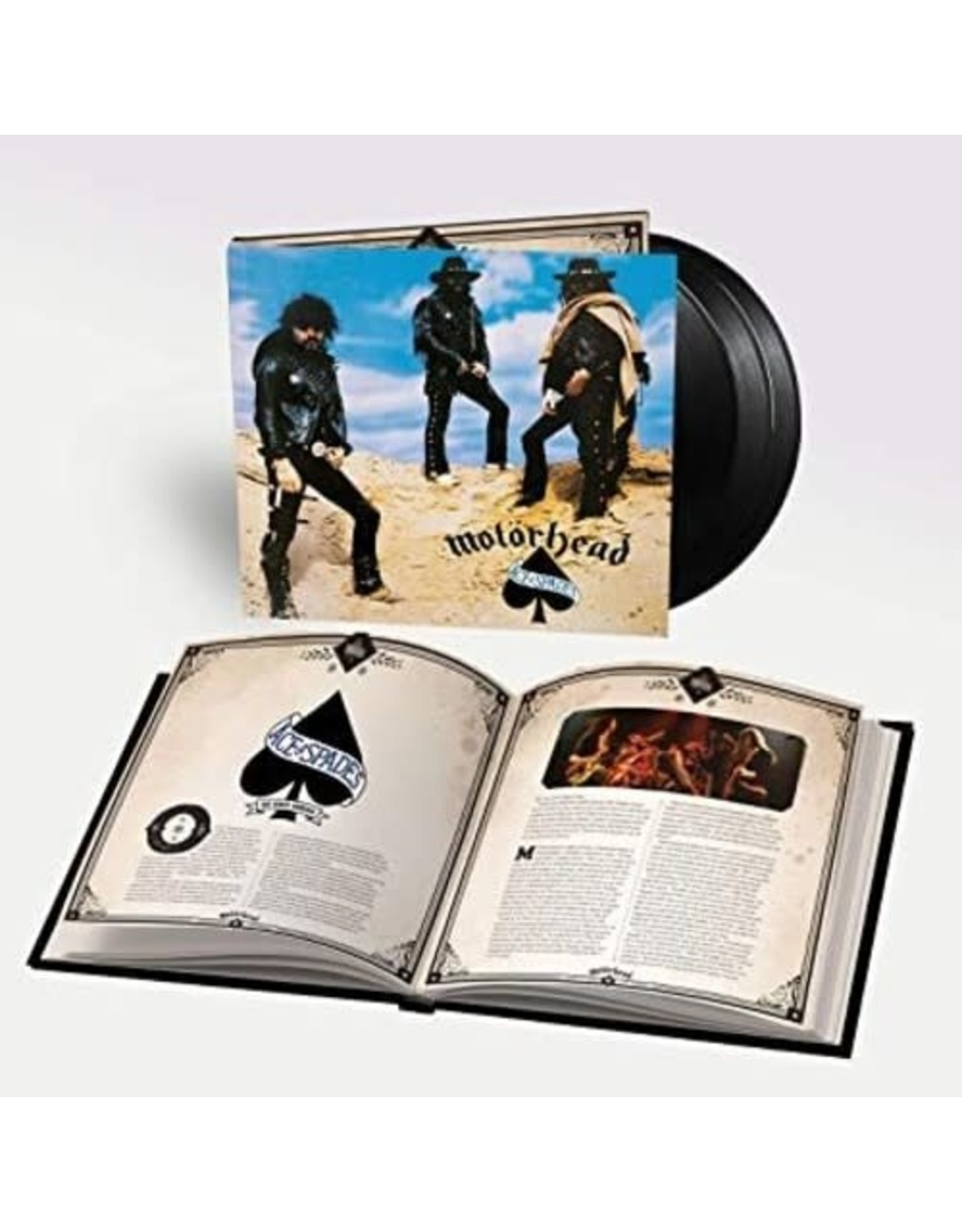 New Vinyl Motorhead - Ace Of Spades 3LP+Book
