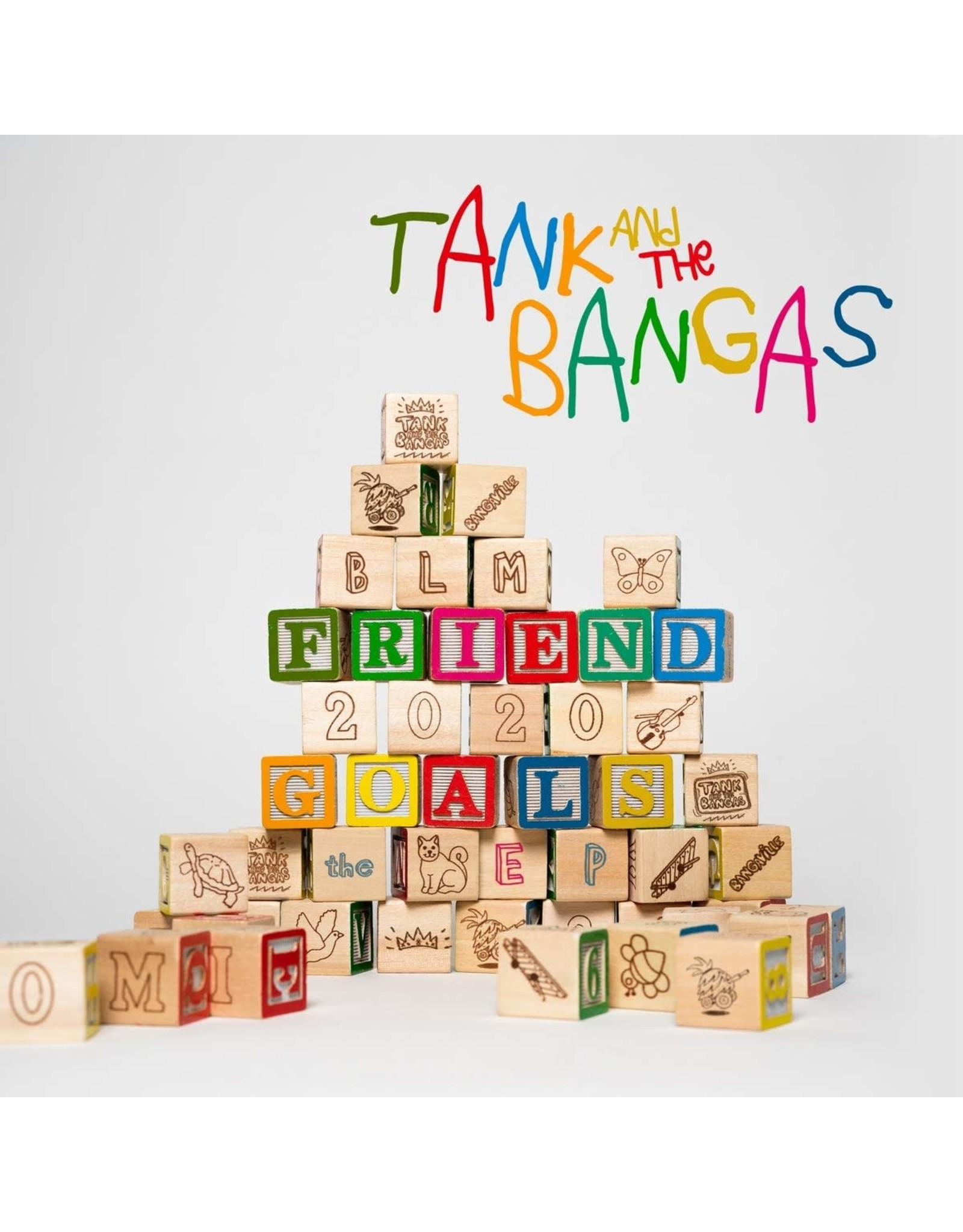 New Vinyl Tank And The Bangas - Friend Goals LP