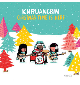 New Vinyl Khruangbin - Christmas Time Is Here (Translucent Red) 7""
