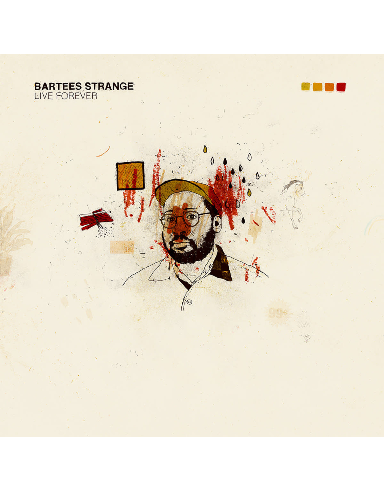 New Vinyl Bartees Strange - Live Forever (Colored) LP