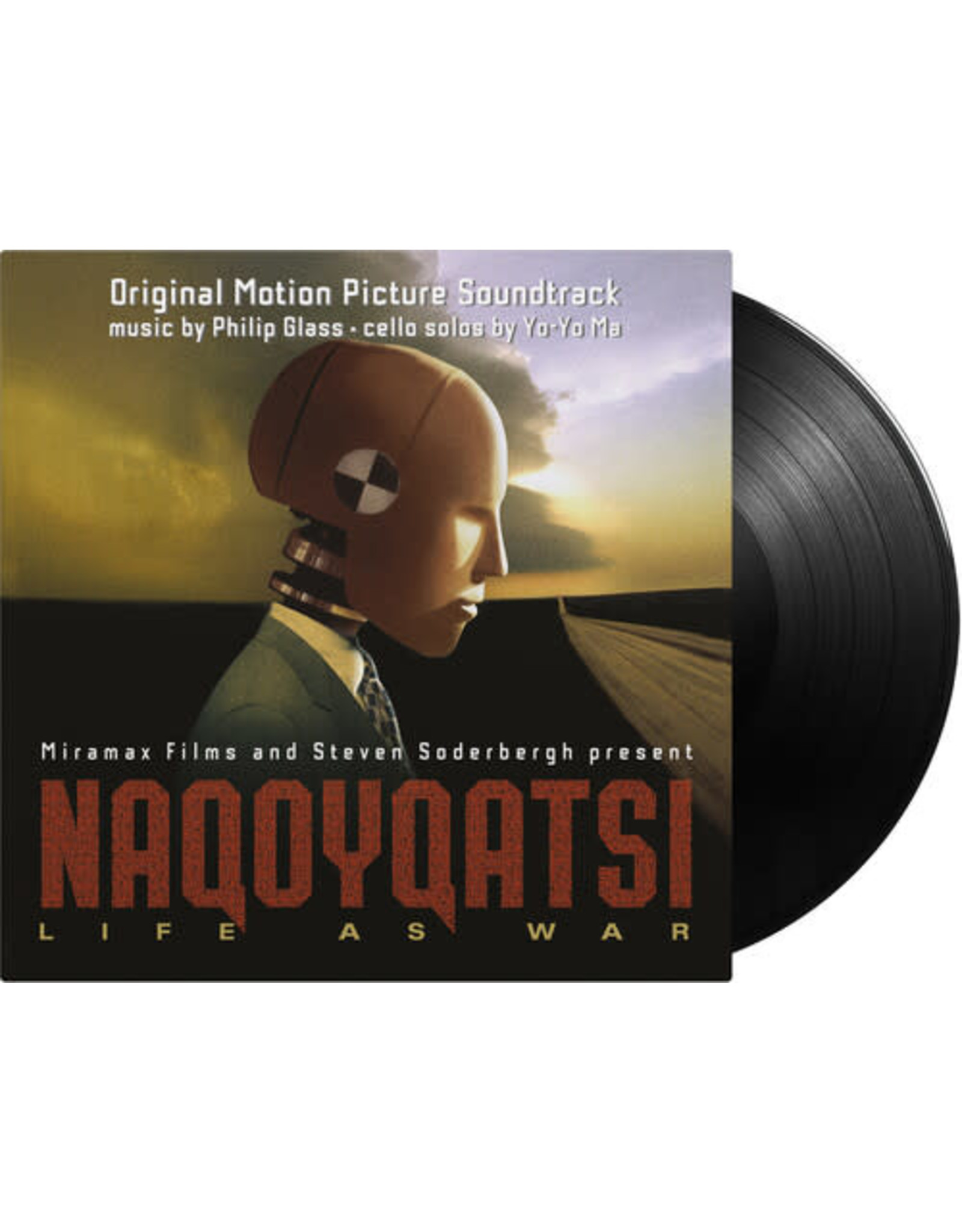 New Vinyl Philip Glass & Yo-Yo Ma - Naqoyqatsi: Life As War OST 2LP
