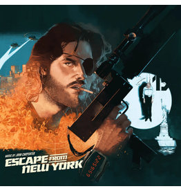 New Vinyl John Carpenter - Escape From New York OST (Expanded, Colored) 2LP