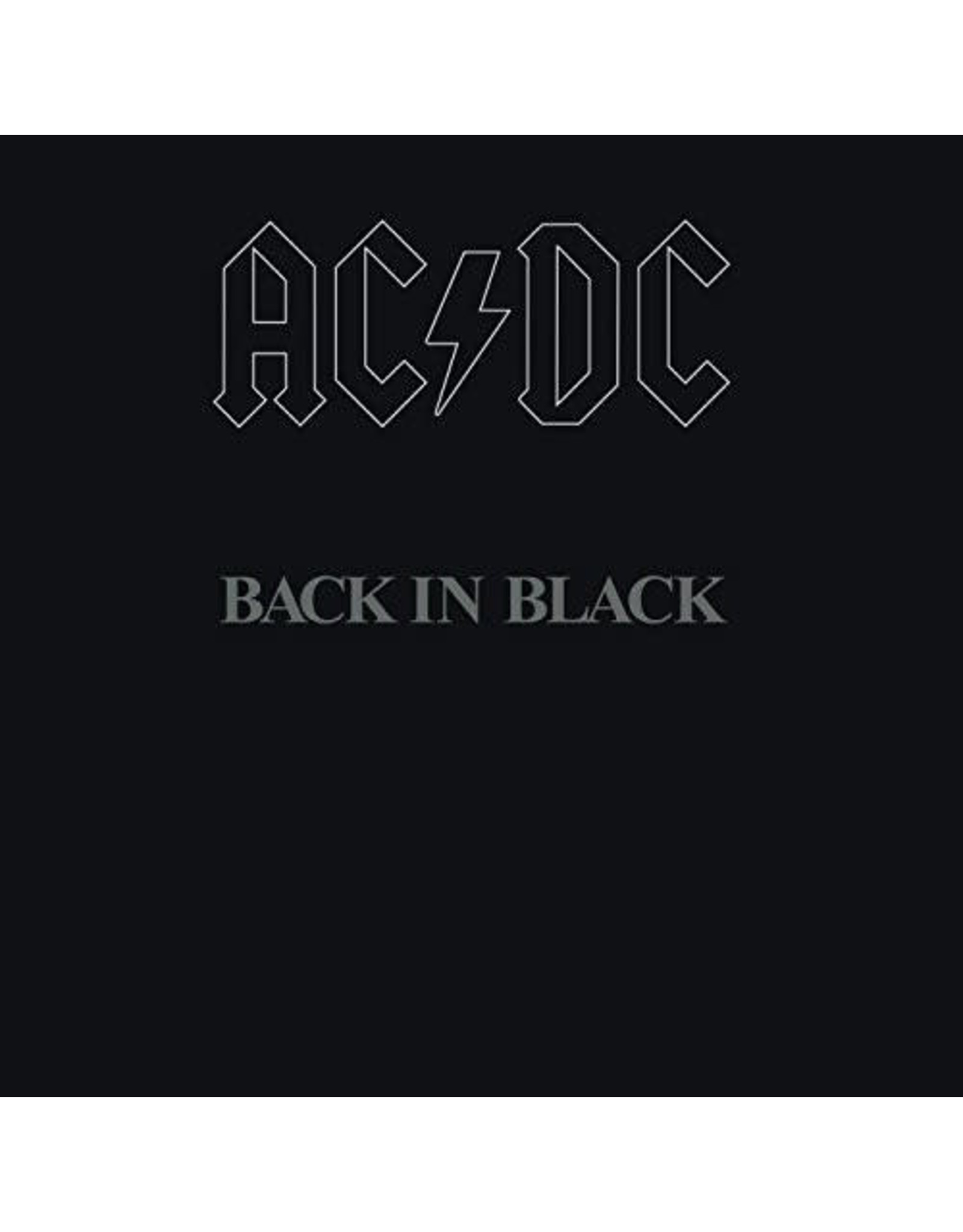 New Vinyl AC/DC - Back In Black LP
