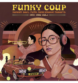 New Vinyl Funky Coup: Korean Soul, Funk & Rare Groove Nuggets 1973-1980 Vol. 1 2LP
