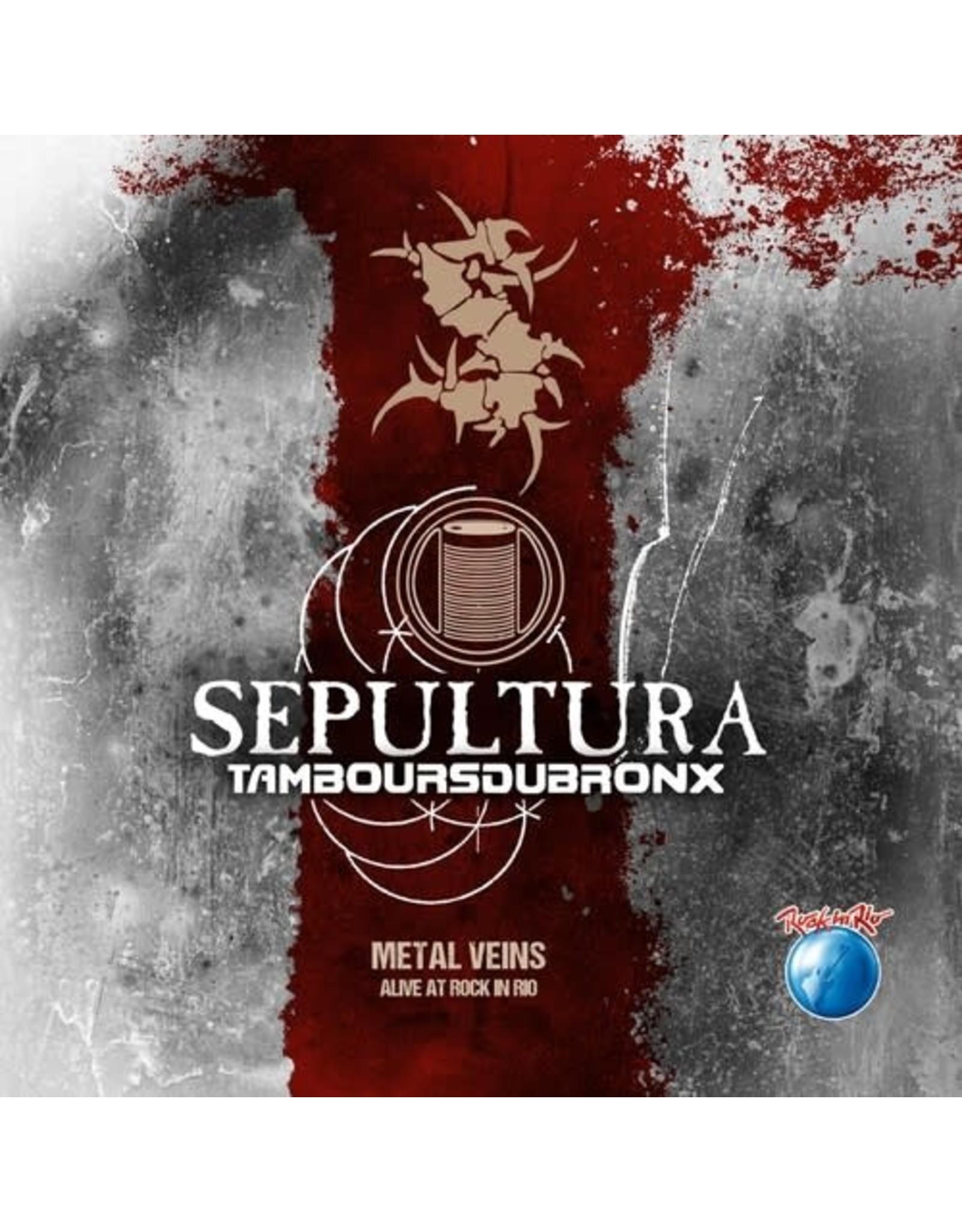 New Vinyl Sepultura - Metal Veins: Alive At Rock In Rio 2LP