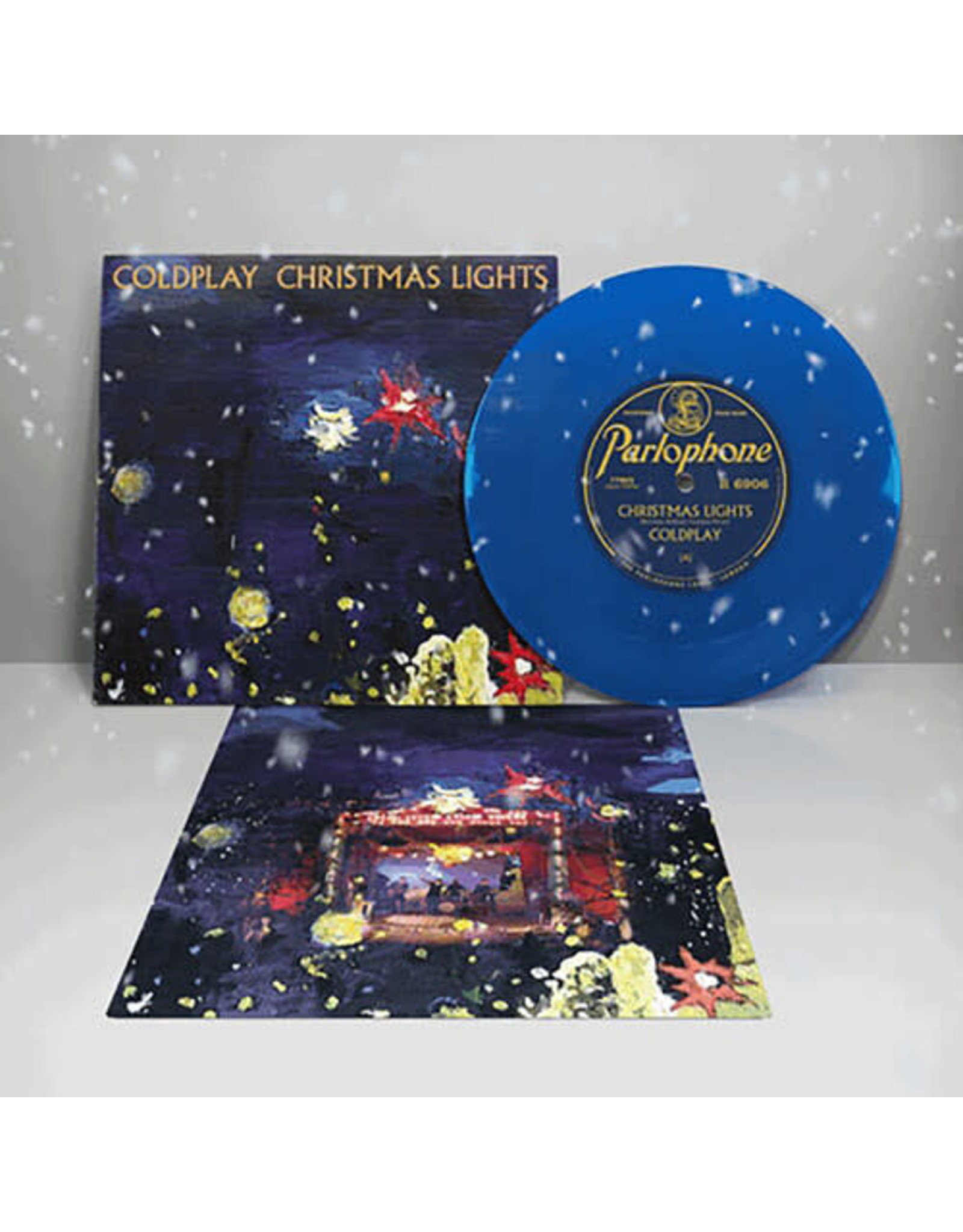 """New Vinyl Coldplay  - Christmas Lights (Colored) 7"""""""