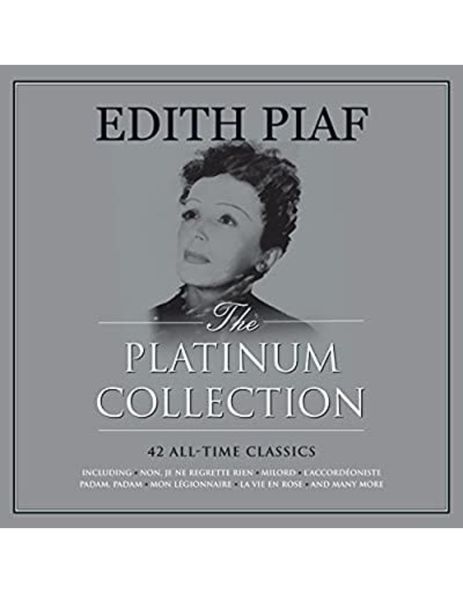 New Vinyl Edith Piaf - The Platinum Collection (UK Import, Colored) 3LP