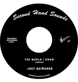 New Vinyl Joey Quiñones - The World I Know b/w Left With A Broken Heart 7""