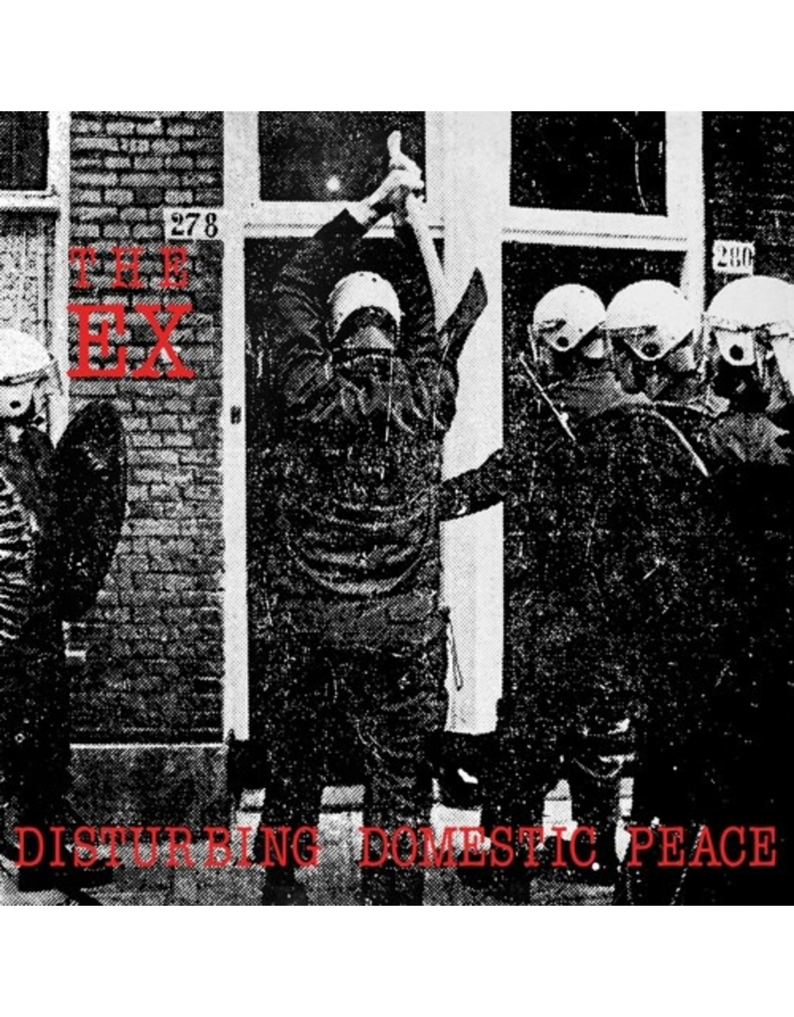 "New Vinyl The Ex - Disturbing Domestic Peace LP+7"""