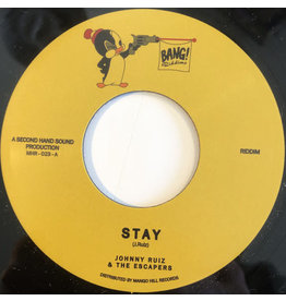 New Vinyl Johnny Ruiz & The Escapers - Stay 7""