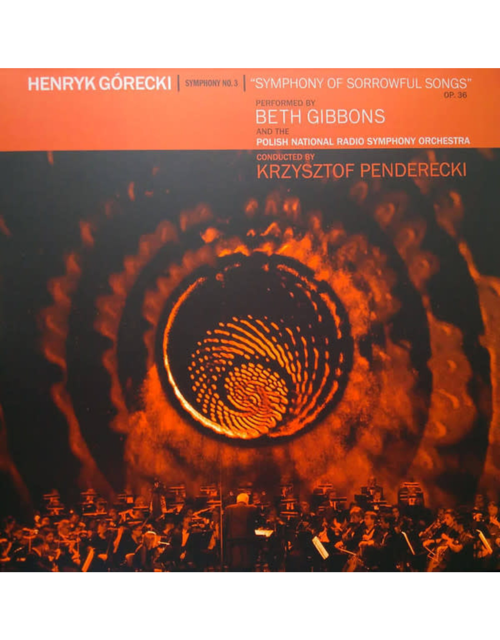 New Vinyl Beth Gibbons & Polish National Orchestra - Symphony No. 3 Deluxe LP + DVD