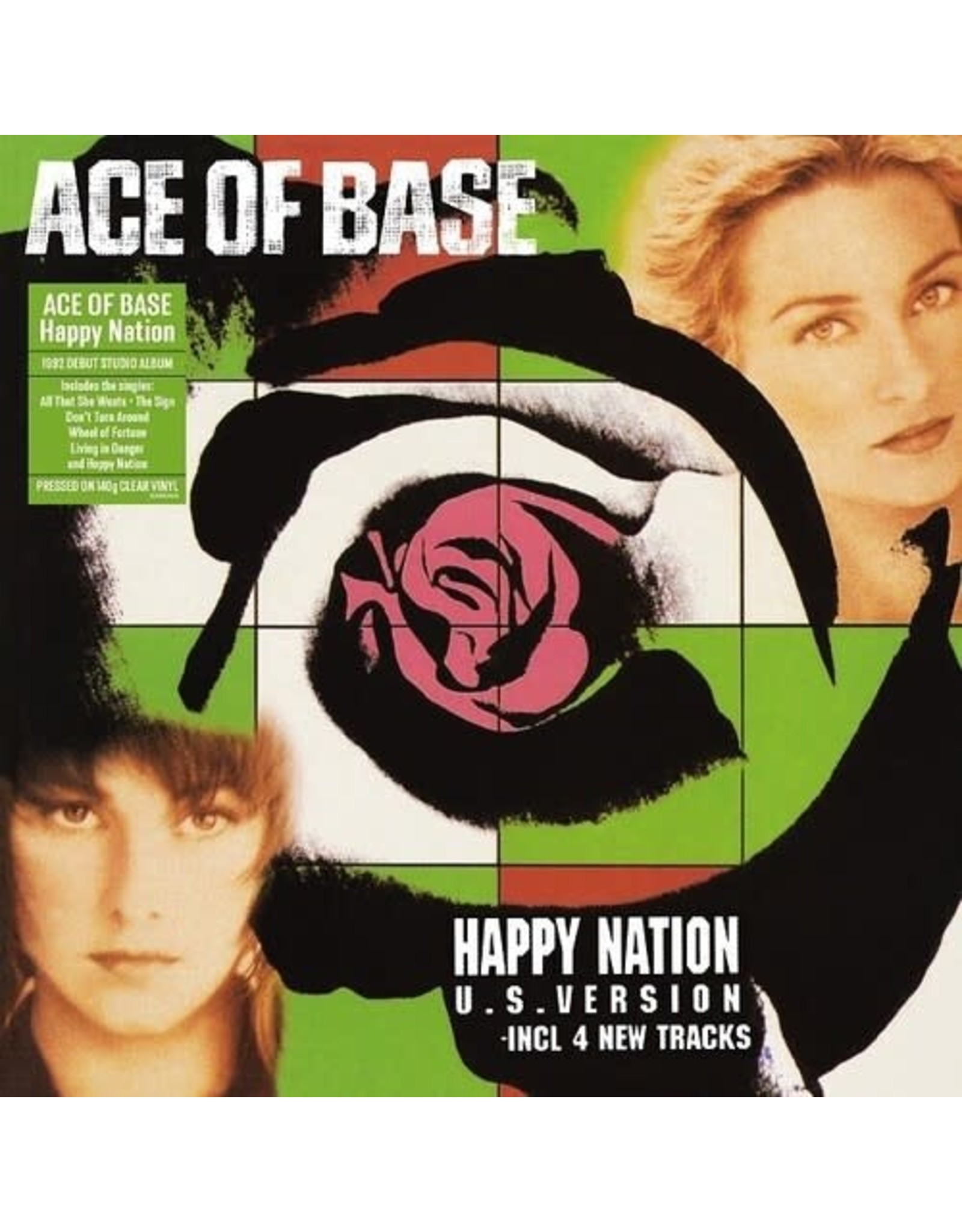 New Vinyl Ace Of Base - Happy Nation (UK Import, Clear) LP