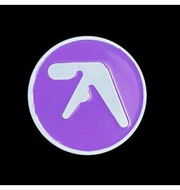 Enamel Pin Aphex Twin Logo Enamel Pin (Purple)
