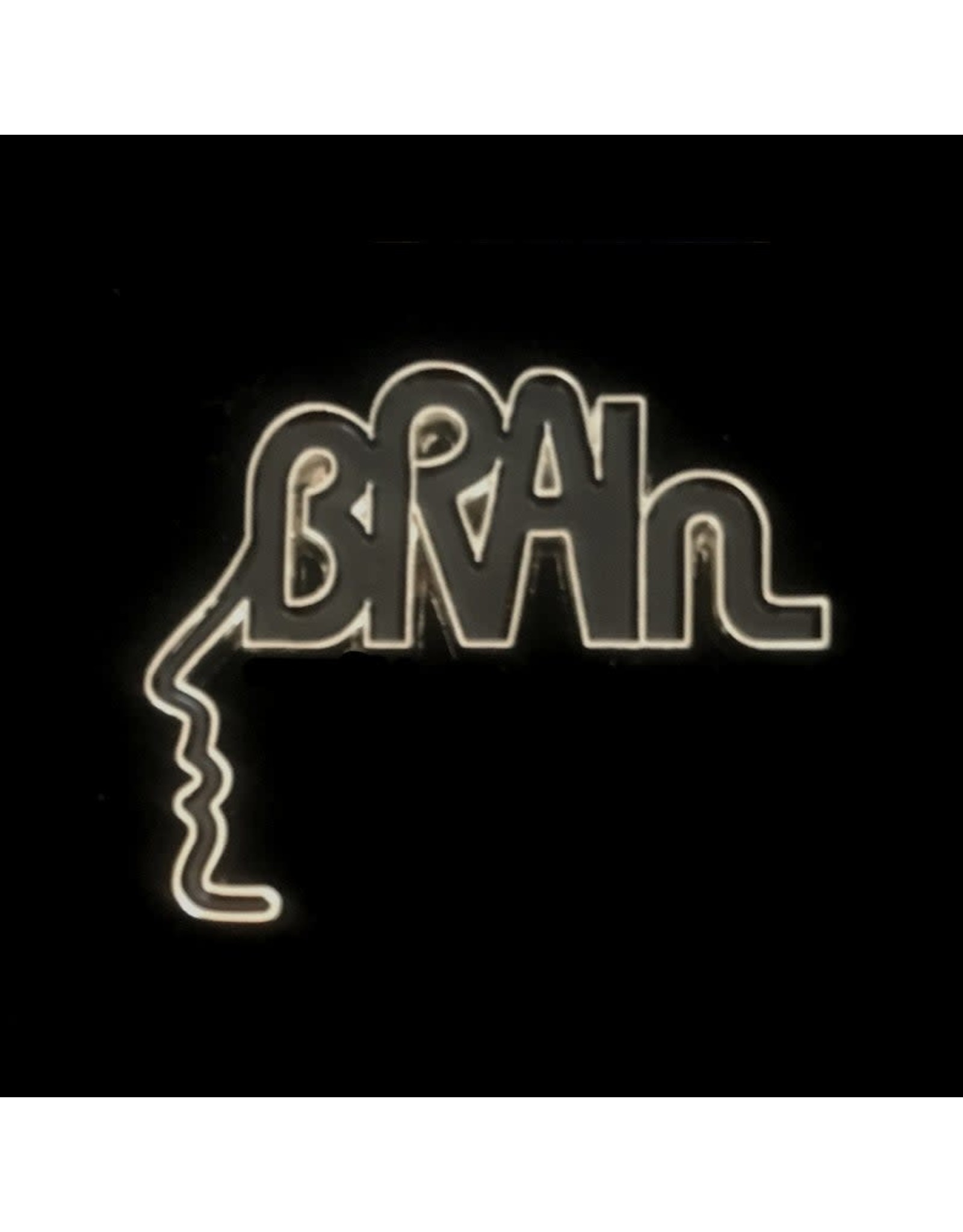 Enamel Pin Brain Records Enamel Pin
