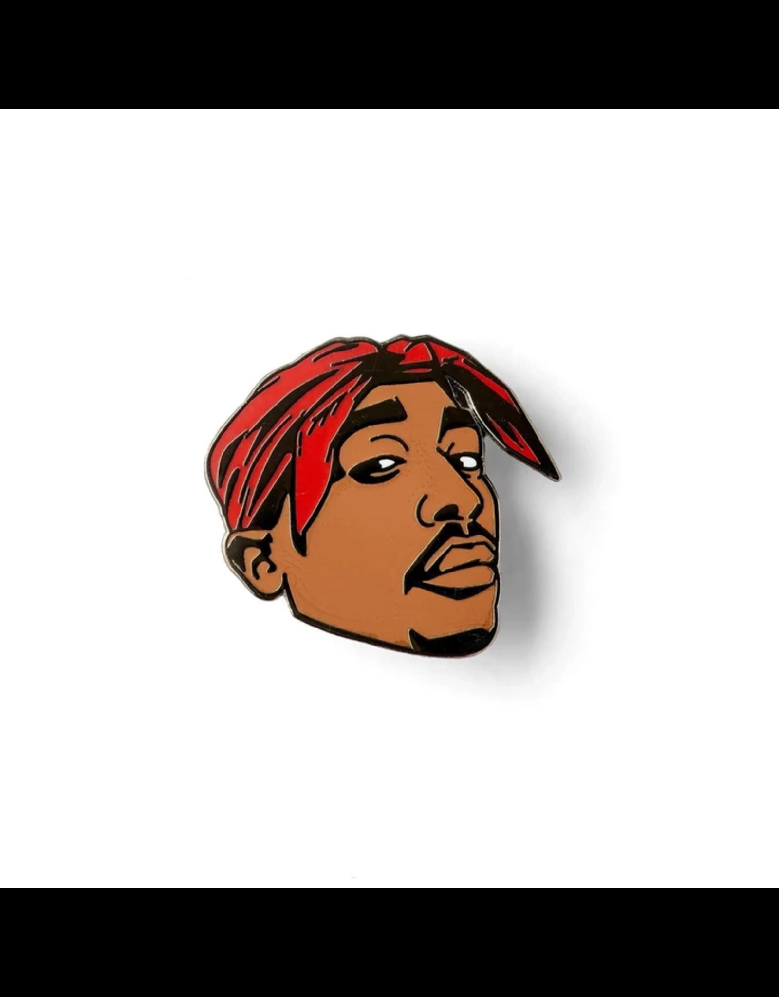 Enamel Pin Tupac Enamel Pin