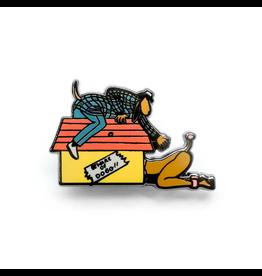 Enamel Pin Snoop Doggystyle Enamel Pin