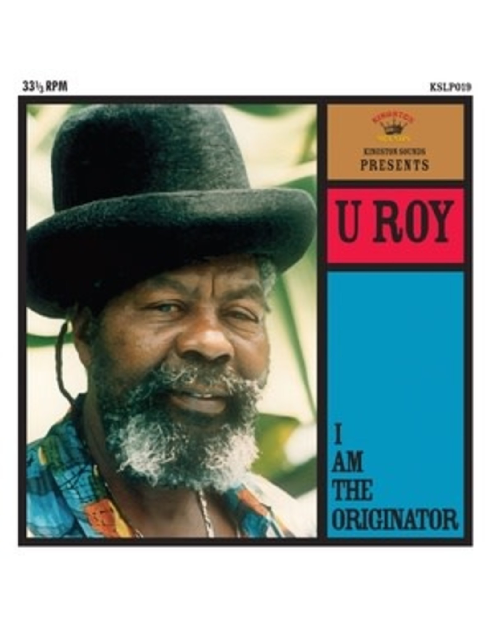 New Vinyl U Roy - I Am The Originator LP