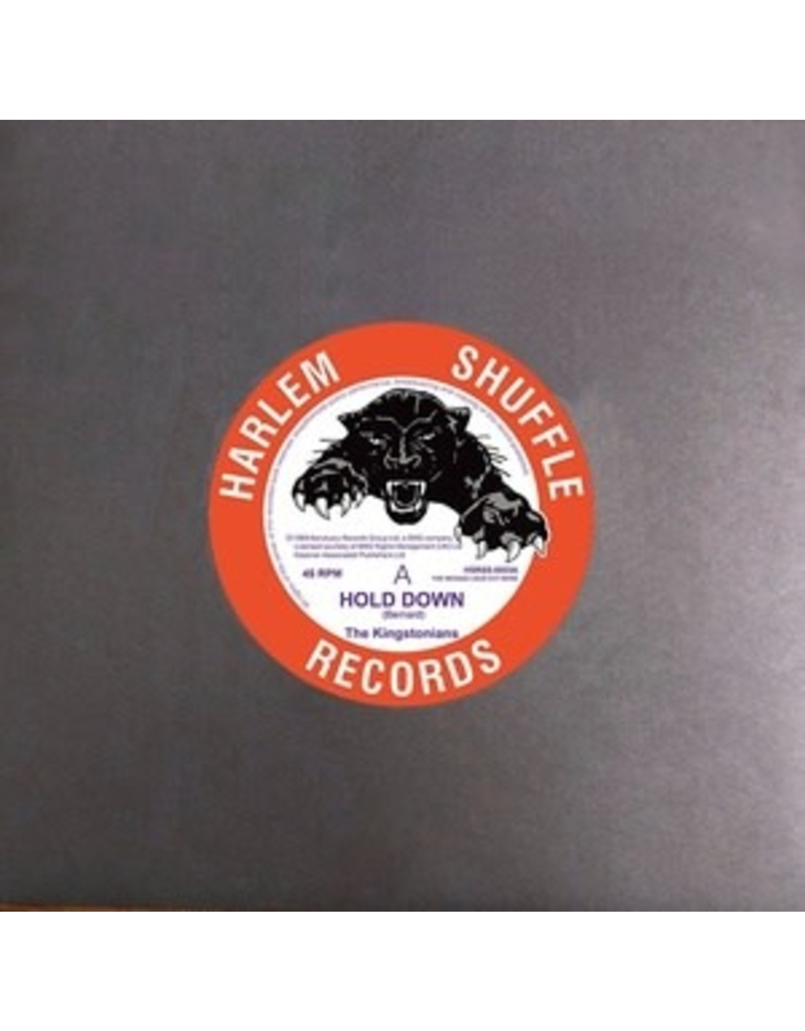 """New Vinyl The Kingstonians - Hold Down/Nice Nice 7"""""""
