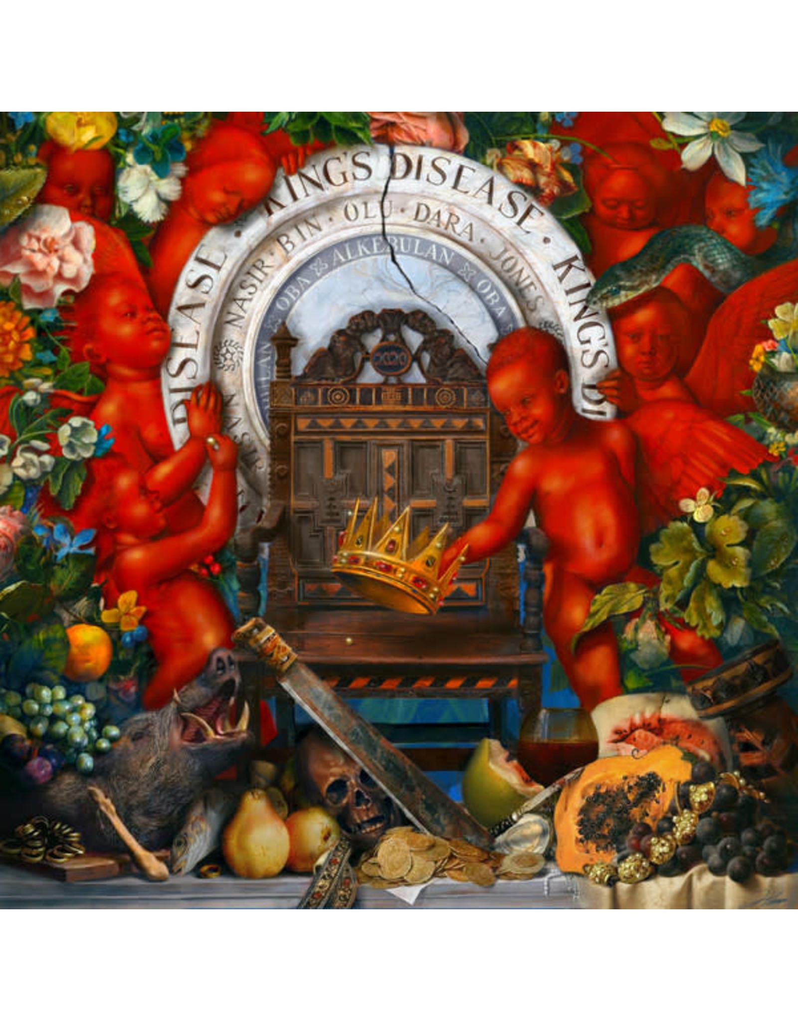 New Vinyl Nas - King's Disease 2LP