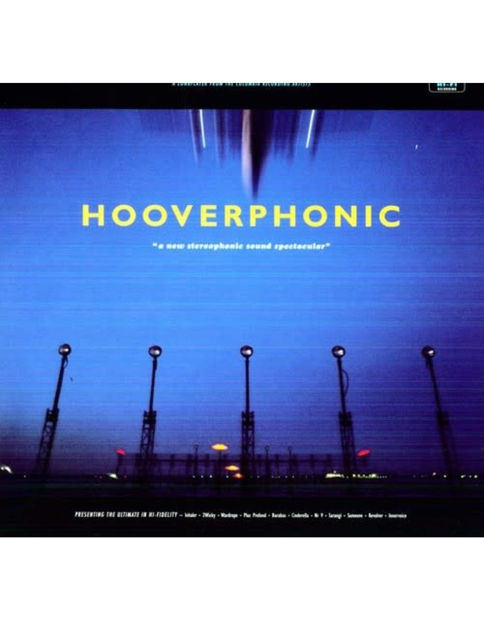 New Vinyl Hooverphonic - A New Stereophonic Sound Spectacular (Holland Import, Colored) LP