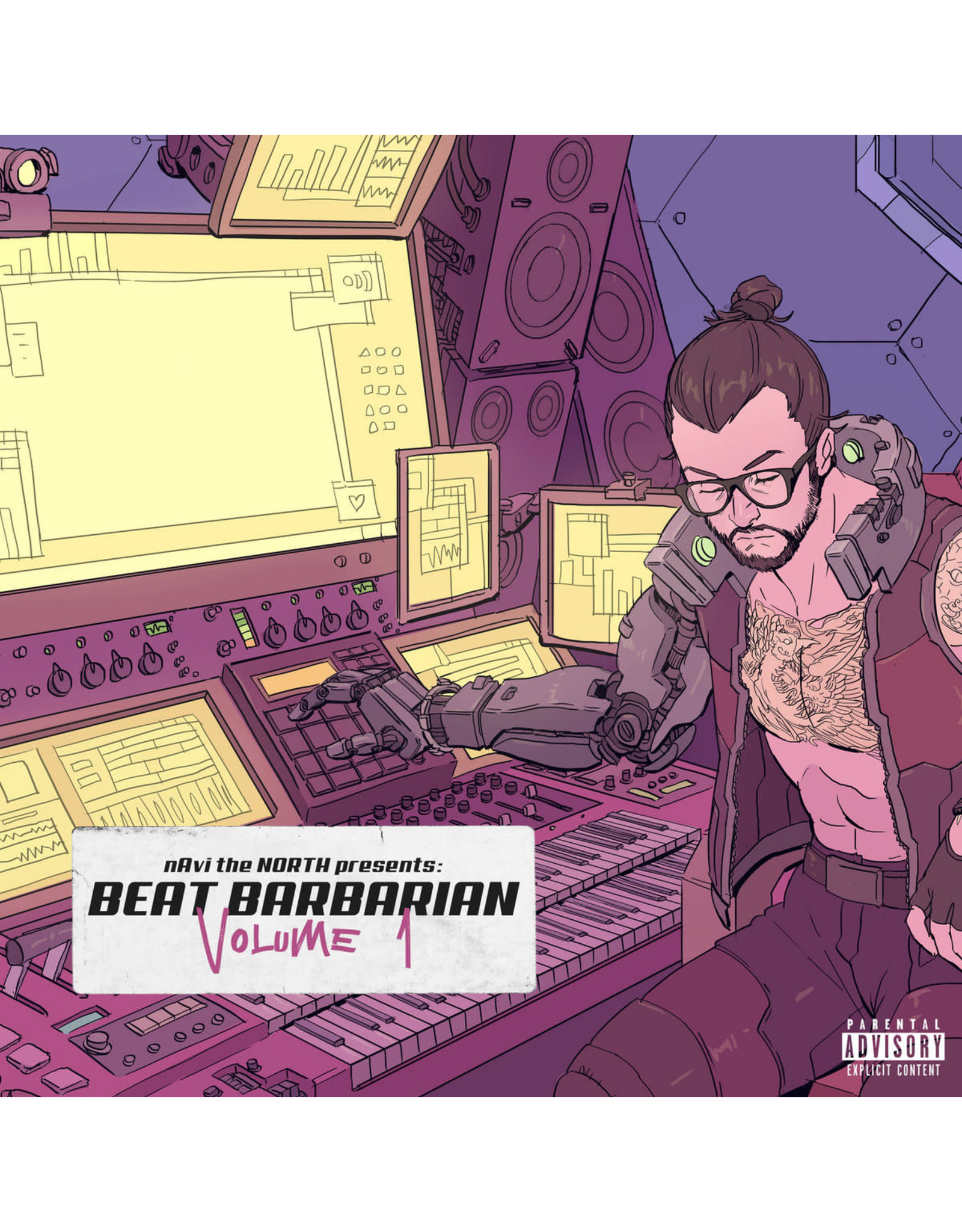 New Vinyl naVi the NORTH - Beat Barbarian, Vol. 1 (Colored) LP