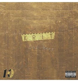 New Vinyl Big K.R.I.T. - K.R.I.T. Wuz Here (10th Anniversary, Colored) 2LP