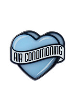 Enamel Pin Heart Air Conditioning Enamel Pin