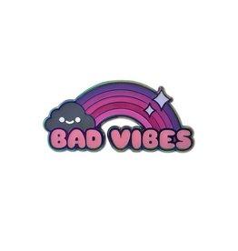 Enamel Pin Bad Vibes Enamel Pin