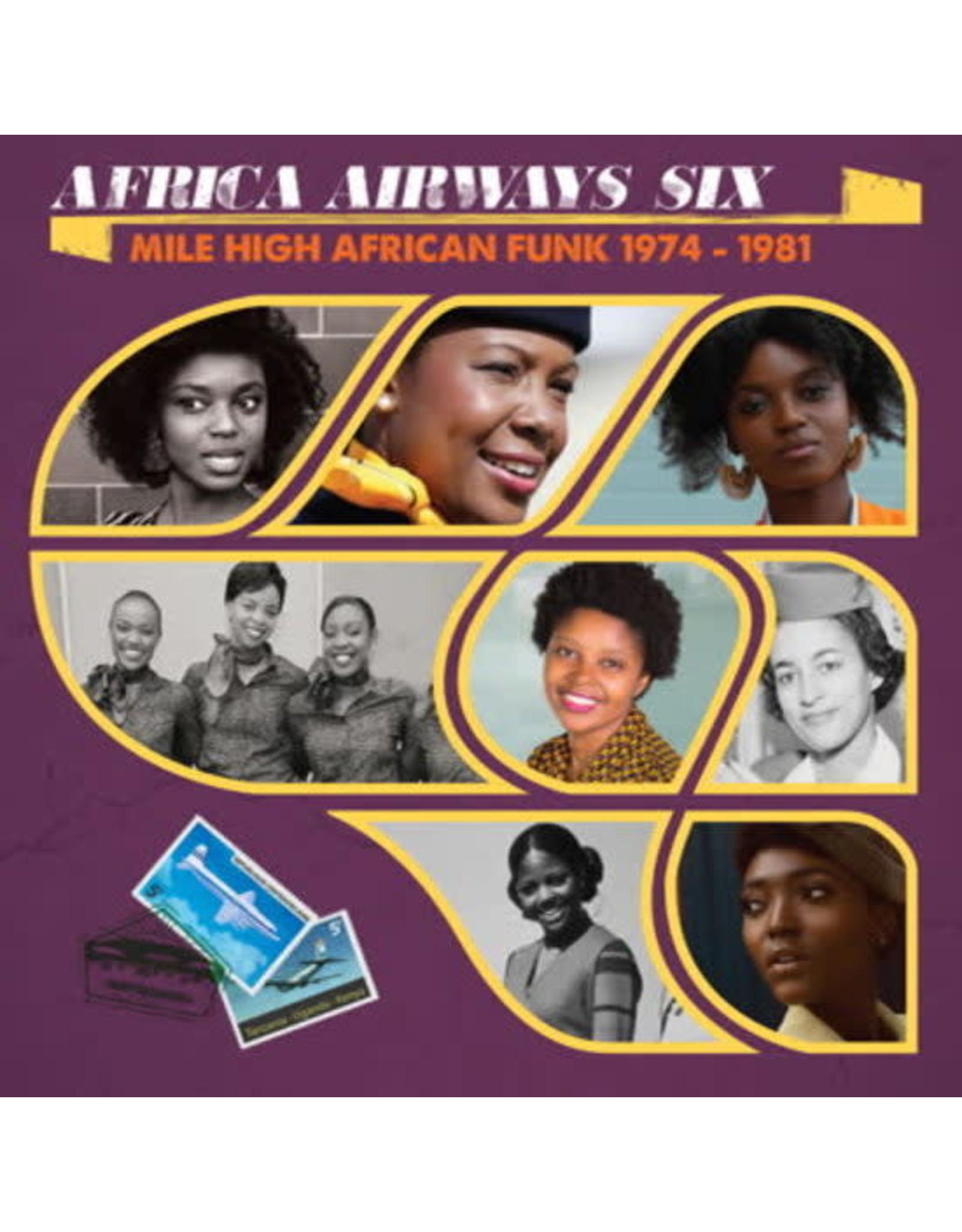 New Vinyl Various - Africa Airways Six: Mile High Funk 1974 - 1981 LP