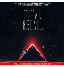 New Vinyl Jerry Goldsmith - Total Recall OST (30th Anniversary Special Ed.) 3LP